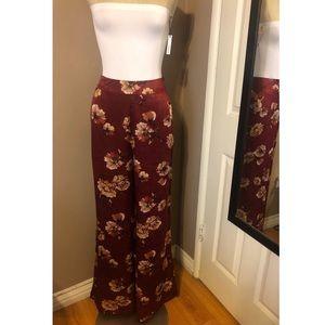 Lulus Floral Pants